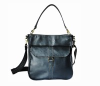 Hibiscus Me Shoulder Bag Black-08