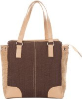 Jute Cottage Rupa Dobby 8 Eyelet Hand-held Bag Brown
