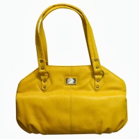 Chimera Leather 1124 Hand Bag Yellow