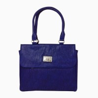 Chimera Leather 1614 Hand-held Bag Blue