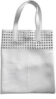 AQ Helen Punched Tote Grey