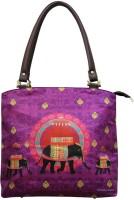 The Elephant Company Butti Hand-held Bag Purple