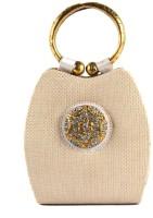 Saisha Modish Hand-held Bag Beige