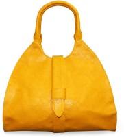 Fab Fashion Top Handle Hand-held Bag Yellow