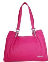 Womaniya Signature Hand-held Bag Pink