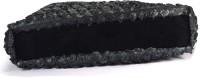 Arisha Kreation Co Smart Black Floral Embossed Design Shoulder Bag