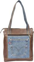 Hibiscus Fusion1 Shoulder Bag TX-Brown-Blu
