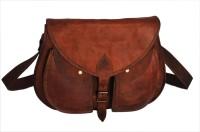 Rustictown Leather Ladies Large Sling Bag Brown