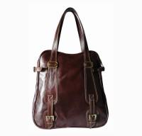 Hibiscus Globetrotter Shoulder Bag Brown-02