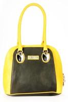 Bagmire Beautiful women Hand-held Bag Black-Yellow