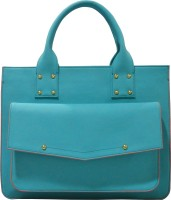 Toteteca Bag Works Edge Colored Hand Bag Turquoise