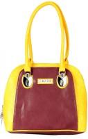Bagmire Beautiful women Hand-held Bag Wine-Yellow