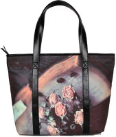 AQ Casa Printed Shoulder Bag Multicolor