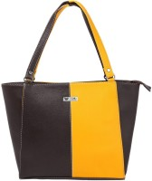 Beau Design PU leather Tote Brown-04