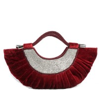 Aapno Rajasthan Stone Swagger Moon Hand-held Bag Devil Red