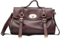 Chanter Texture Design Genuine Leather Hand Bag Brown - 07