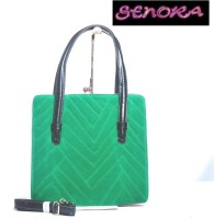 Senora Stylish Hand-held Bag GREEN