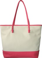 Toteteca Bag Works Color Band Large Shoulder Bag Offwhite