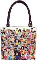 The Elephant Company Leather India Family Hand-held Bag White