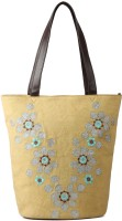Goguava Canvas Shopper Shoulder Bag beige/brown