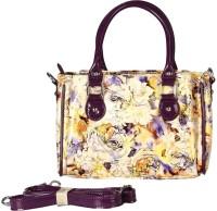 Bagmire Beautiful women Hand-held Bag Purple-Cream