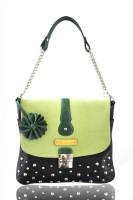 Dhruva Ida Shoulder Bag Green-01