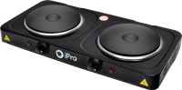 IPro Electric Dual Hot Plate Induction Cooktop Black