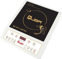 Quba 1210 Induction Cooktop Black and white