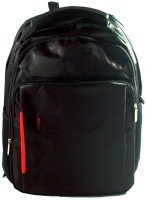 JG Shoppe Whibin College/Office Bag with Laptop Compartment 15 inch Expandable Laptop Backpack Black-JG550