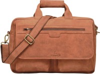 Leaderachi Dublin 15 inch Laptop Messenger Bag Brown