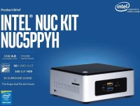 INTEL NUC5PPYH - DOS, N3700, N3700, 0 GB Graphics Card, 0 GB DDR3, 0 GB SATA 2.5