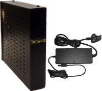 Thinvent Treo Thin Client - Linux based Thin Client OS – Thinux Embedded Linux, Hudson D1 chipset, AMD E240, 32 MB Graphics Card, 1 GB DD3, 4 GB Flash 1 Mini PC Black