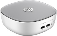 HP Pavilion Mini Desktop 300-010in - Windows 8.1 64-bit, Intel HM87, Intel Core i3 4025U, 2 GB DDR3, 500 GB HDD 2 Mini PC White