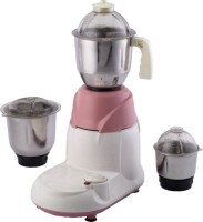 Santosh Champion 550 W Mixer Grinder Pink, 3 Jars