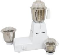 United 007-Excel 800 W Mixer Grinder White, 3 Jars
