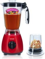 Sonashi SB -0W-01 500 W Mixer Grinder Red, 2 Jars