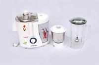 Euro Power Elegant 450 W Juicer Mixer Grinder White, 2 Jars