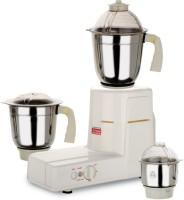 Kitchen King PM Klassic 550 W Mixer Grinder White, 3 Jars