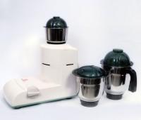 Padmavati Jumbo 750 W Mixer Grinder White, 3 Jars