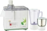 Ruhi AJ 10 450 W Juicer Mixer Grinder White, Green, 2 Jars