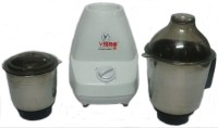 Vibro Kitchen Queen-66 450 W Mixer Grinder White, 2 Jars
