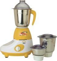 Ruhi AM 10 500 W Mixer Grinder Yellow, White, 3 Jars