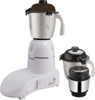 Kwality MK-3J 600 W Mixer Grinder White, 3 Jars