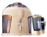 Bajaj PLATINI PX70J 450 W Juicer Mixer Grinder White, 2 Jars