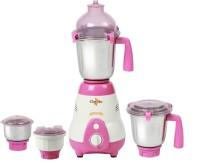 Chef Art CMG627 750 W Mixer Grinder White, Pink, 4 Jars