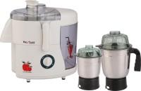 Nikitasha NTJMG2J 550 W Juicer Mixer Grinder White, 2 Jars