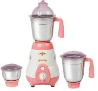 Chef Art CMG625 550 W Mixer Grinder White, Peach, 3 Jars