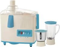 Quba Jm75 500 W Juicer Mixer Grinder White, Blue, 2 Jars