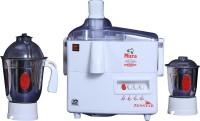 Zenstar Micra 400 W Juicer Mixer Grinder White, 2 Jars