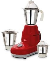 Kitchen King Legend 550 W Mixer Grinder Red, 3 Jars